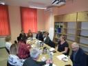 zdjęcia z posiedzenia Powiatowej Rady Rynku Pracy